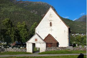 Kinsarvik village, Norway