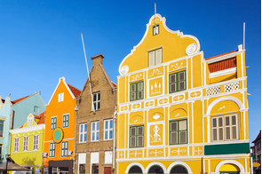 Architecture in Willemstad, Curacao