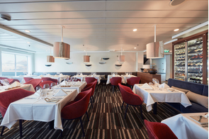 Hurtigruten - MS Nordkapp - Kysten restaurant