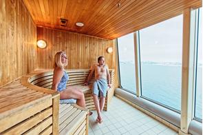MS Trollfjord - Sauna