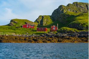 Rost island, Norway
