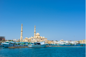 Central mosque in Hurghada, Egypt