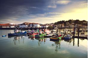 Saint-Jean-de-Luz harbour, France