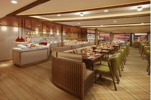 Seabourn Venture - Colonnade restaurant