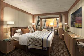 Seabourn Venture - Veranda Suite