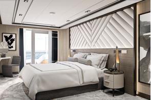 Regent Seven Seas Grandeur - Grandeur Suite bedroom