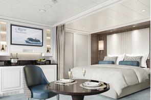 Regent Seven Seas Grandeur - Deluxe Veranda Suite