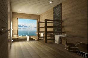 Aurora Expeditions - Sylvia Earle - Sauna