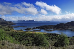 Chilean Fjords & Patagonia expedition cruises - Wulaia Bay