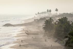 West Africa cruises - Fishermen in Ghana