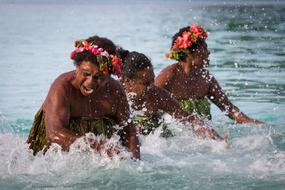 Pacific island cruises - Champagne Beach, Vanuatu