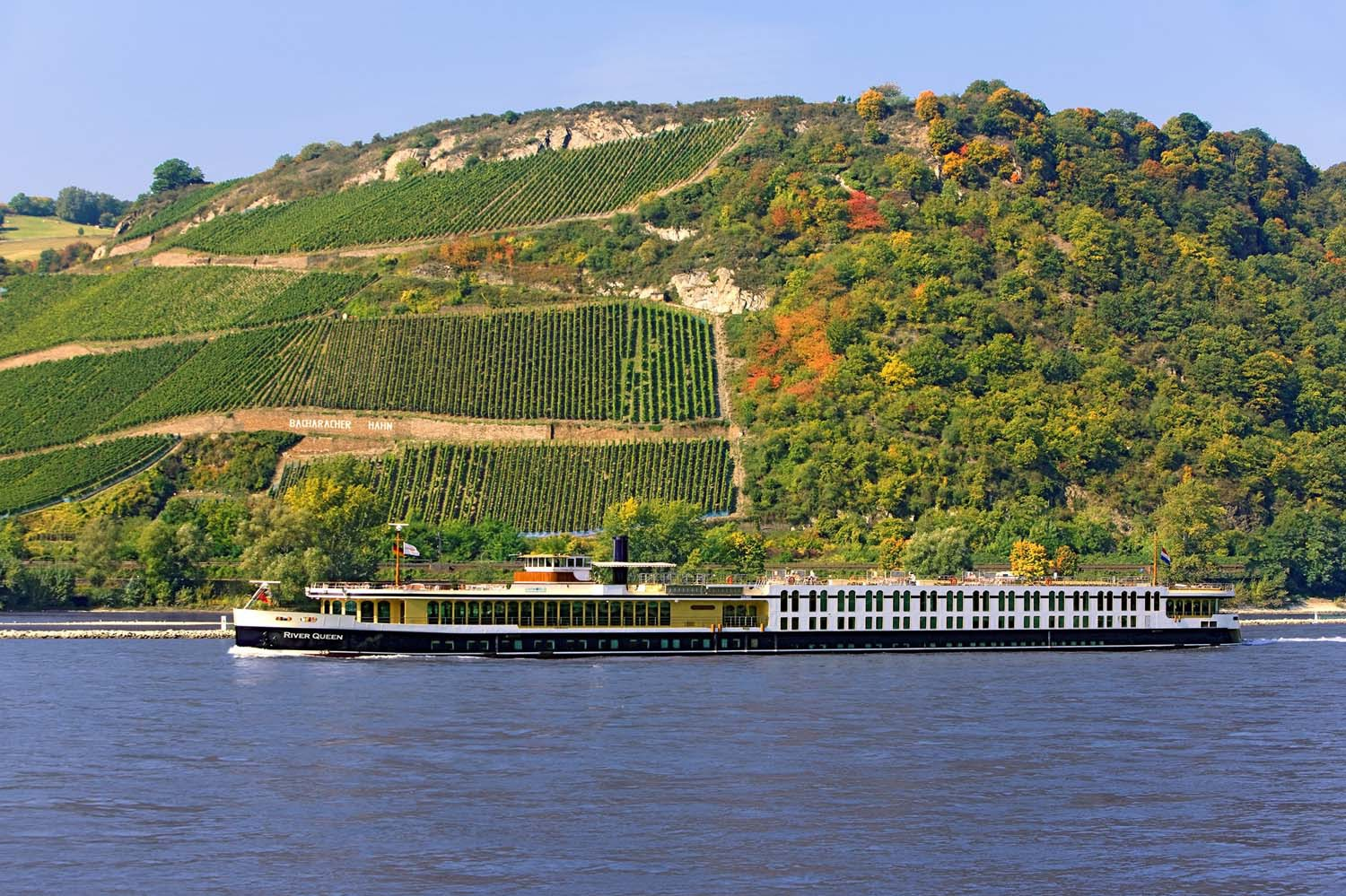 Uniworld River Queen on the Rhine