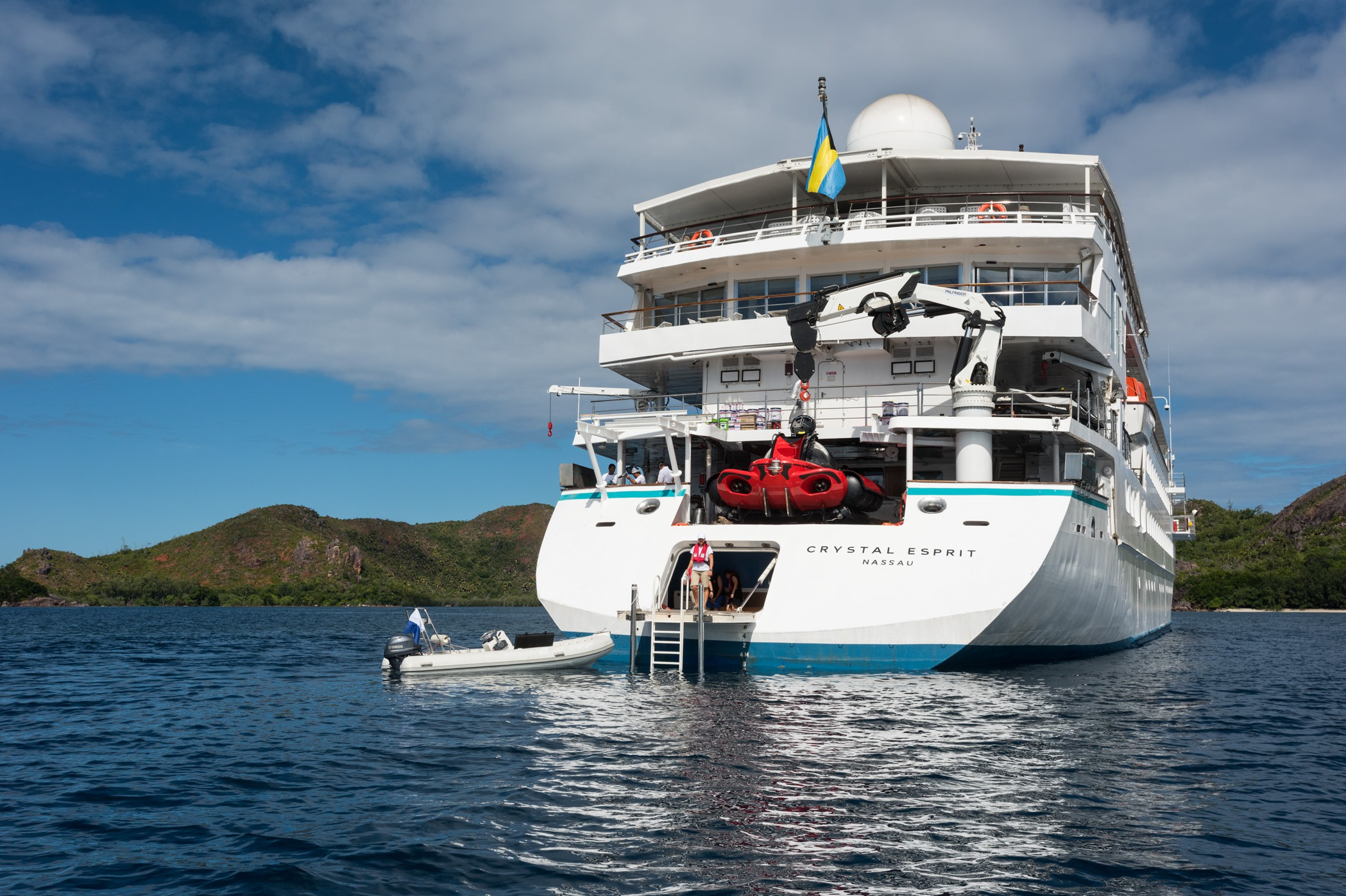 Crystal Cruises - Crystal Esprit marina