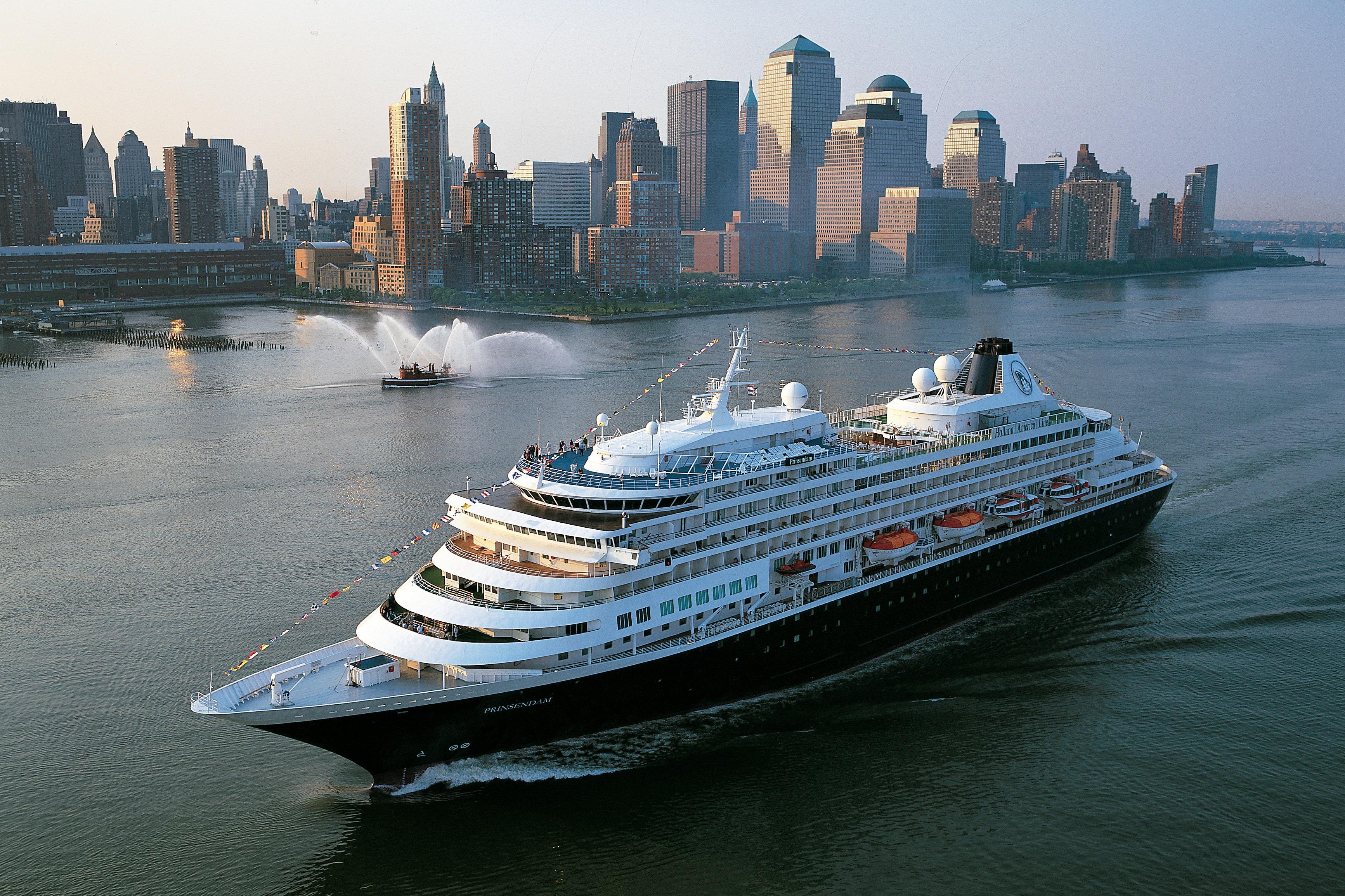 Holland America Line cruises - MS Prinsendam in New York