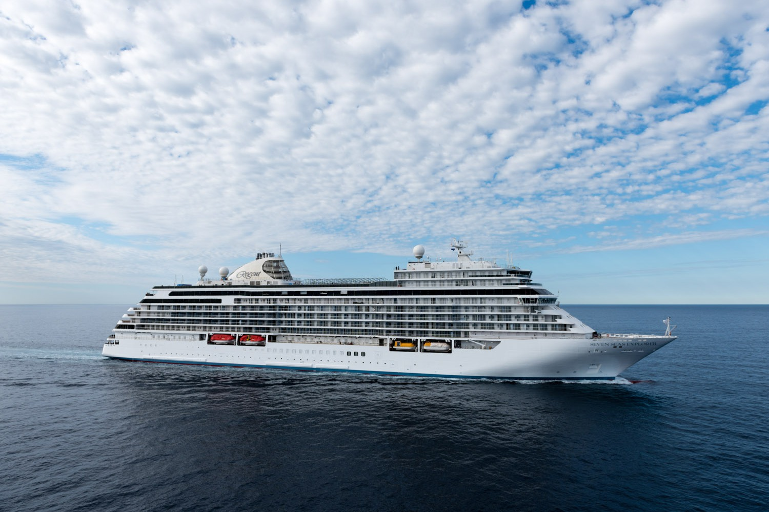 Regent Seven Seas Explorer at sea