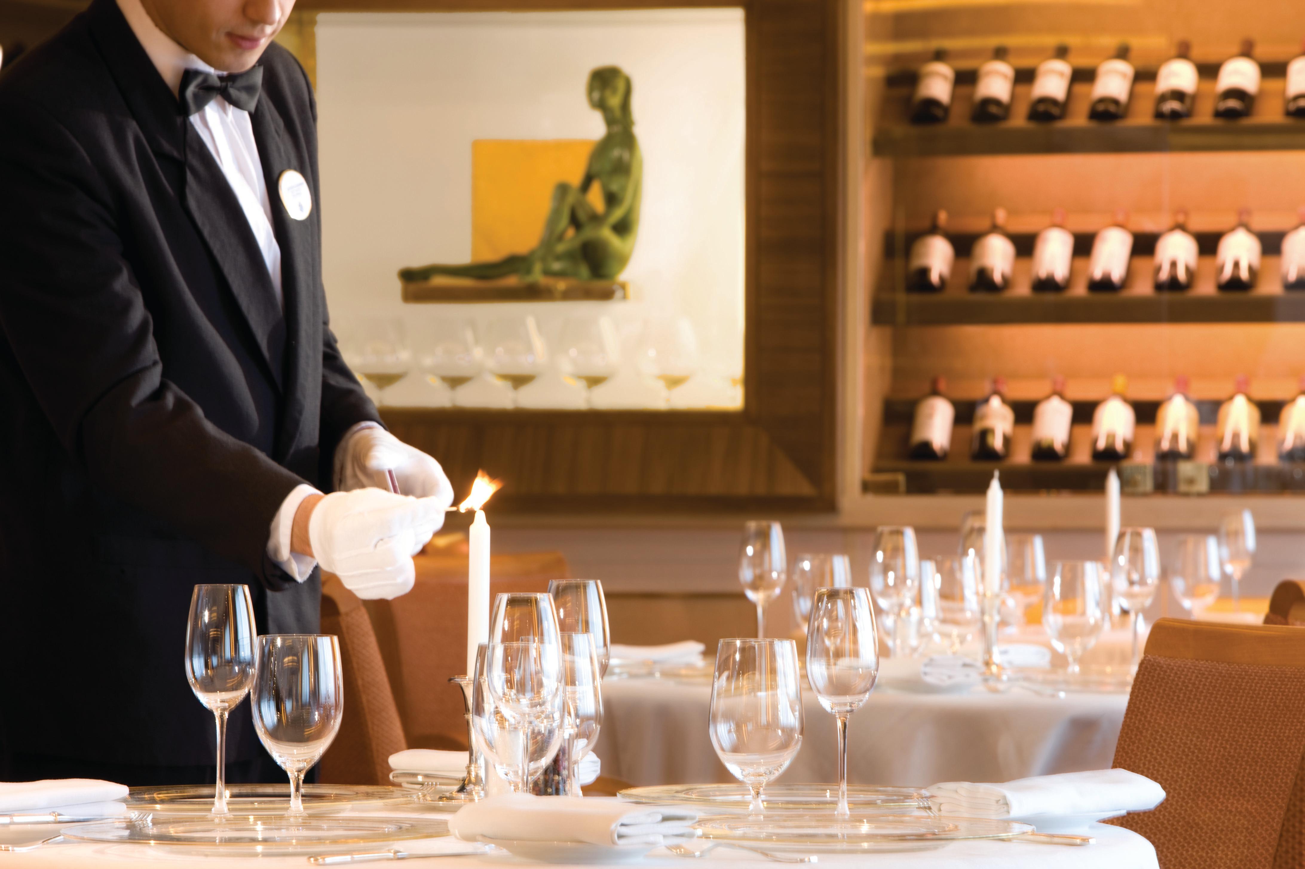 Silver Wind - Le Champagne restaurant