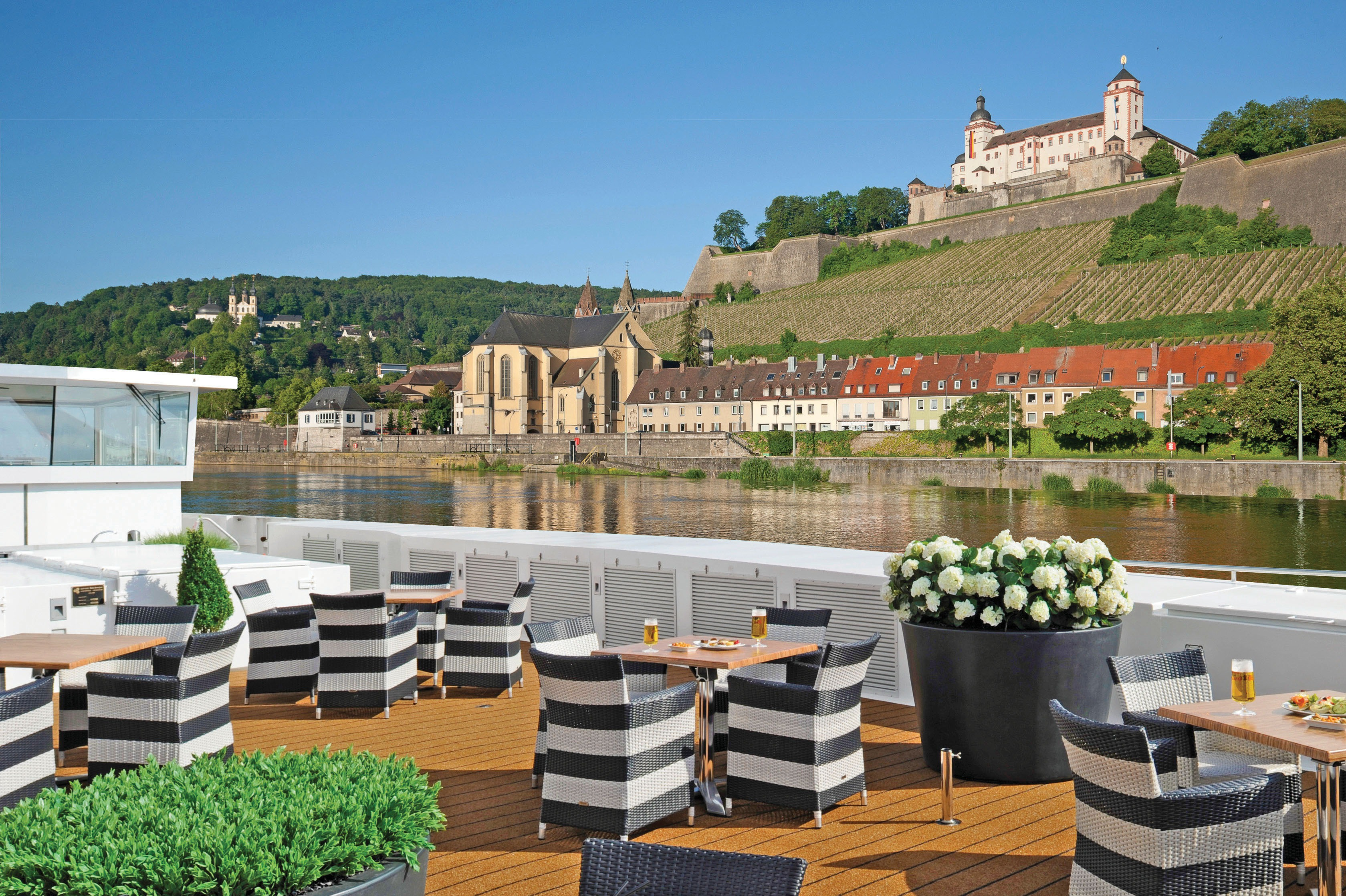 Scenic river cruises - Sun deck