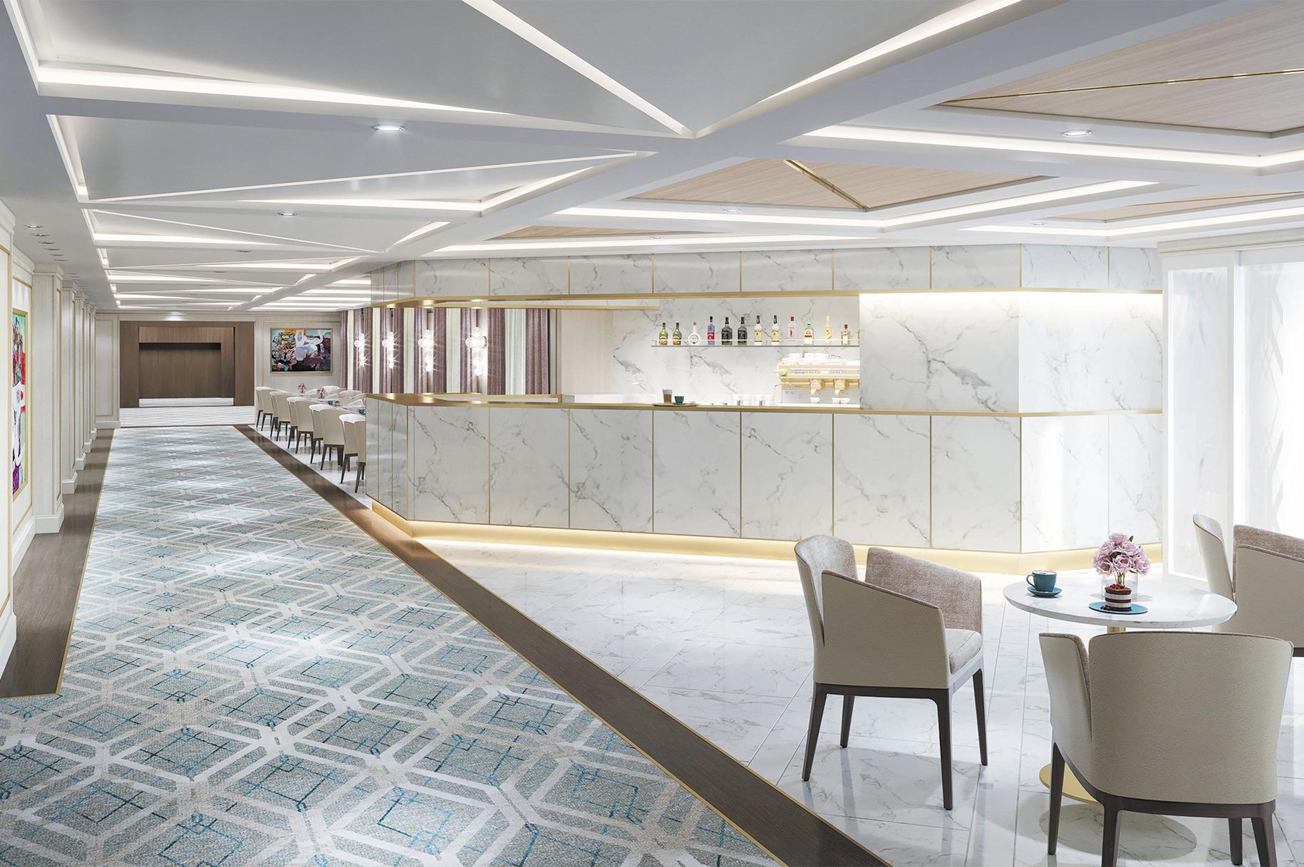 Regent Seven Seas Splendor - Coffee Connection bar