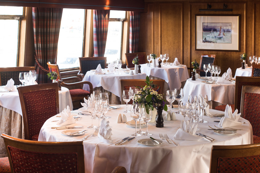 Hebridean Princess - Columba restaurant