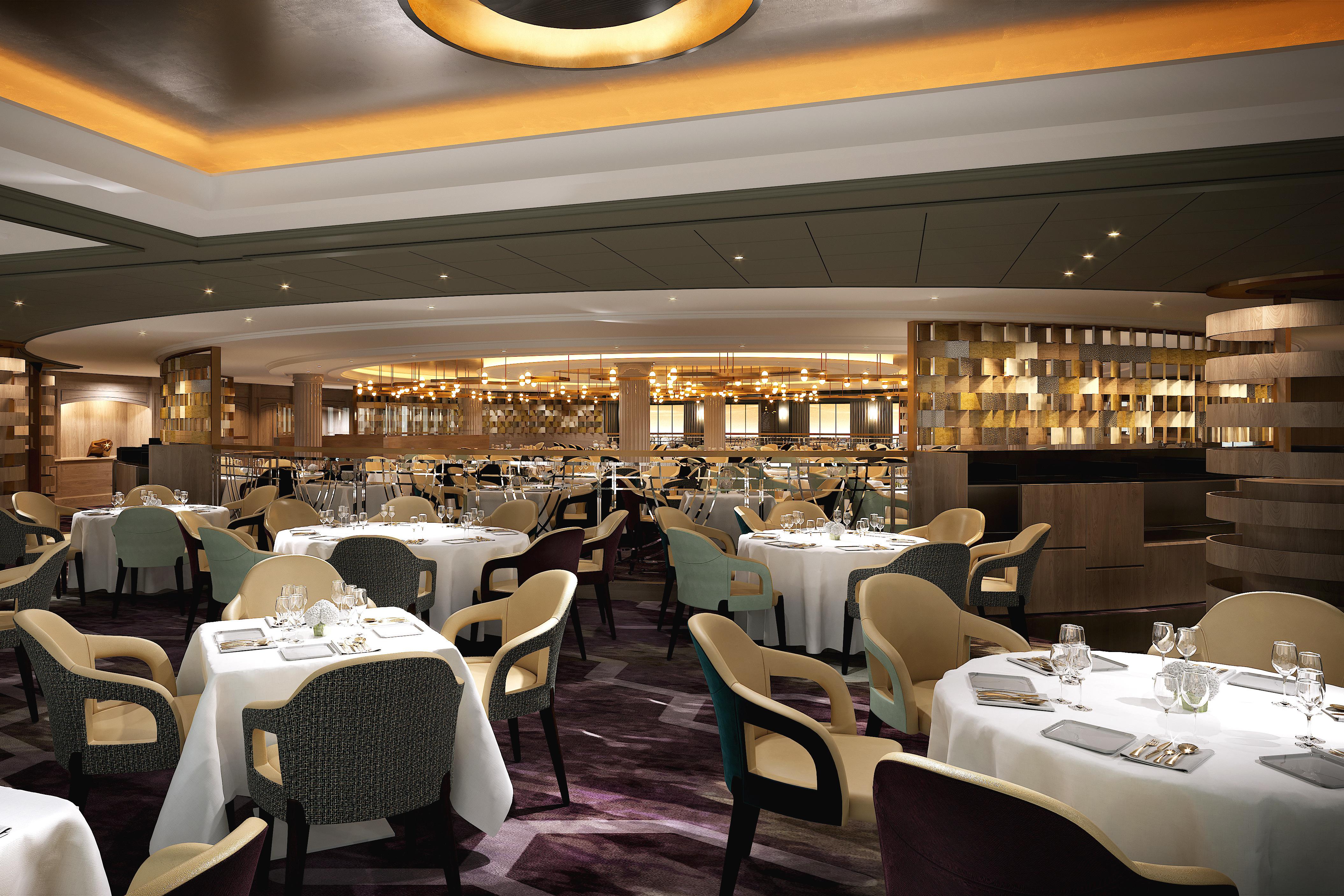 Crystal Serenity - Waterside restaurant