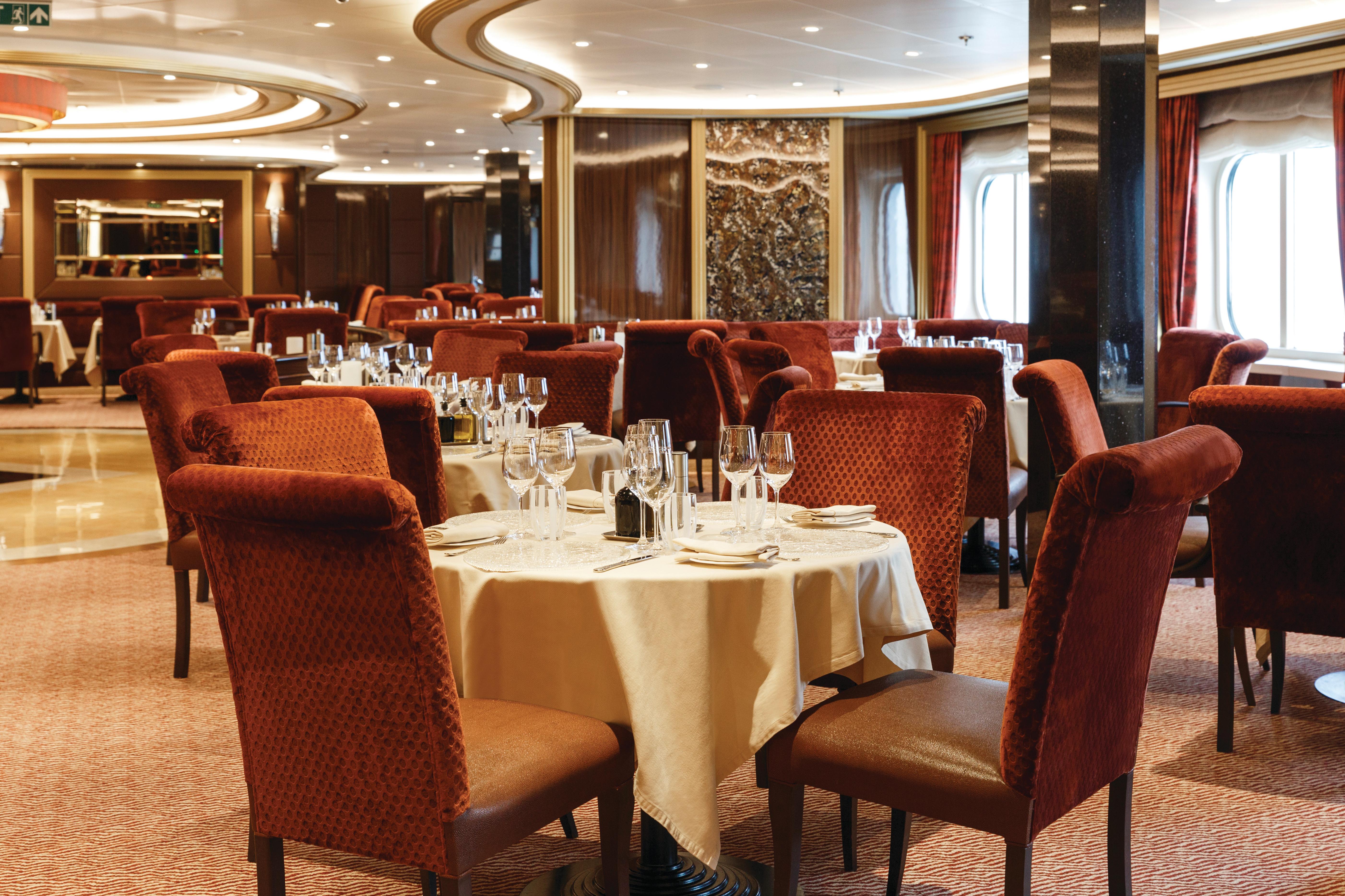 Silver Spirit - Atlantide restaurant