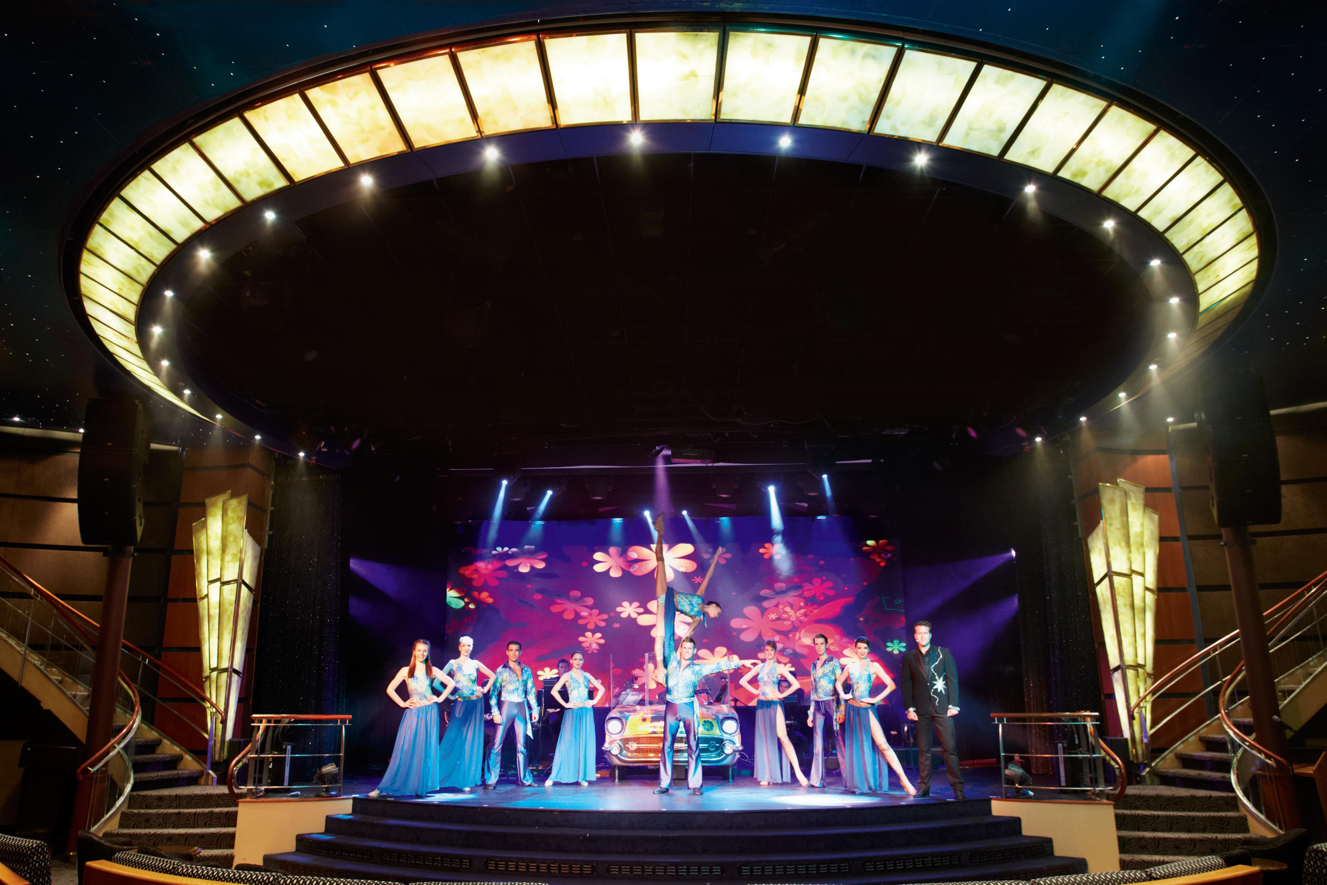 Regent Seven Seas Navigator - Theatre show