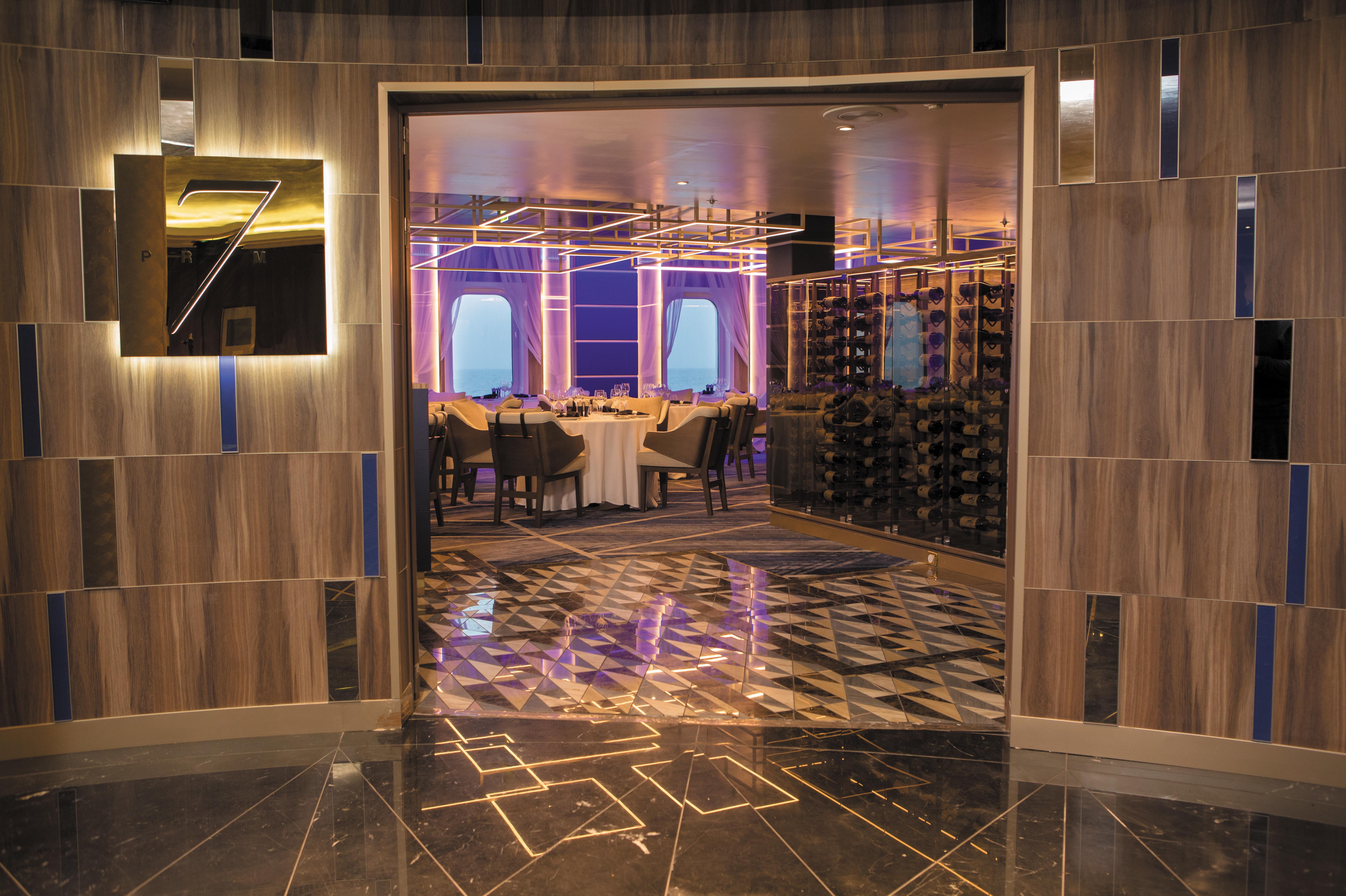 Regent Seven Seas Mariner - Prime 7 restaurant