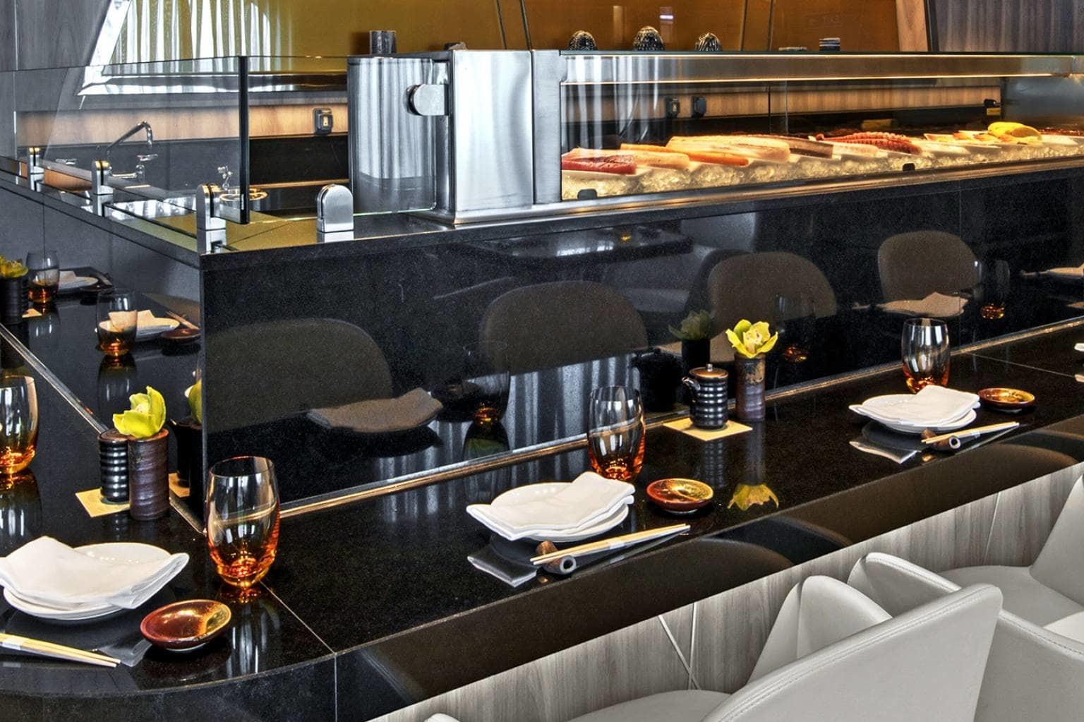 Seabourn Encore - Sushi restaurant