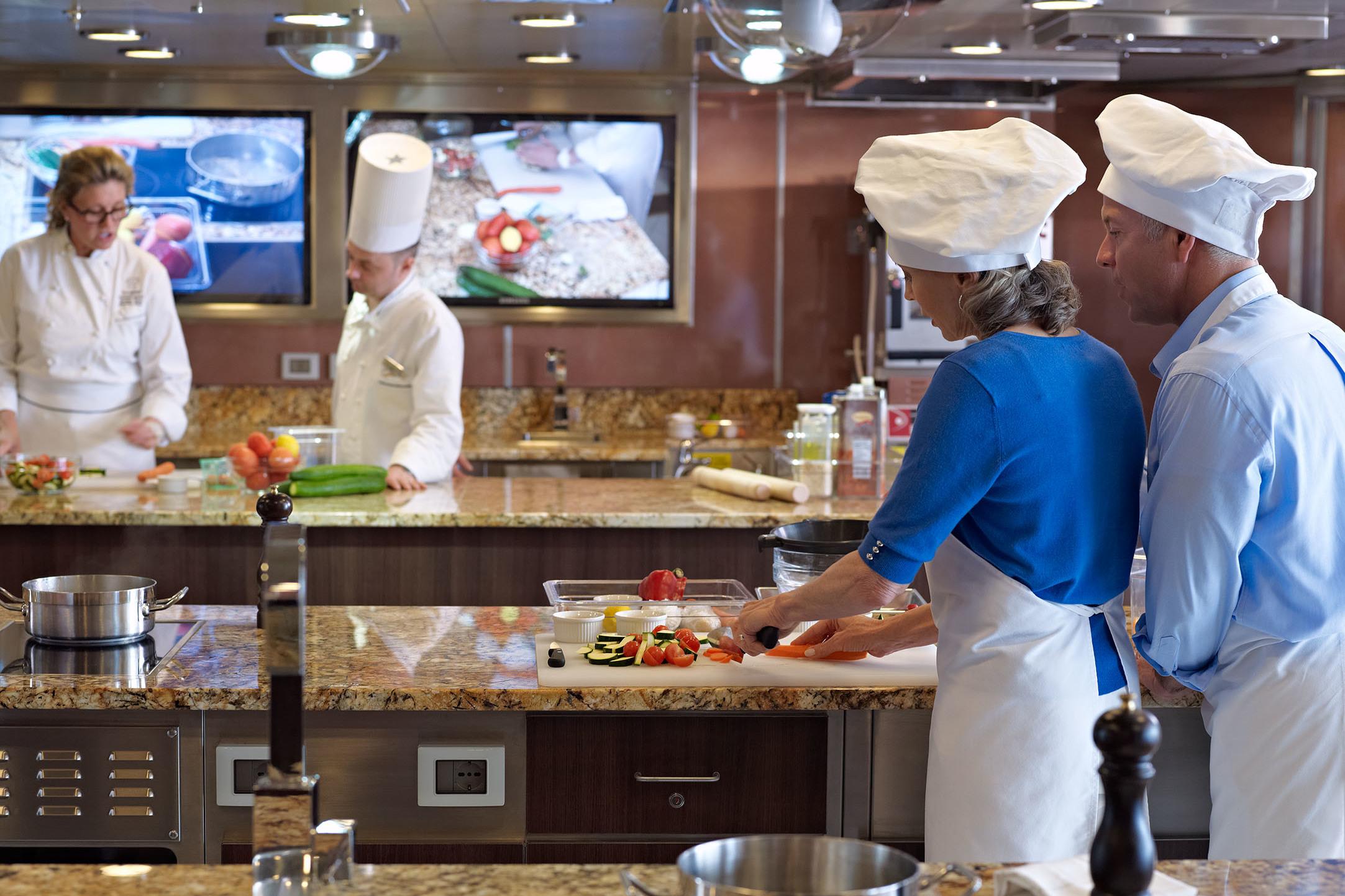 Oceania O Class - Culinary Centre