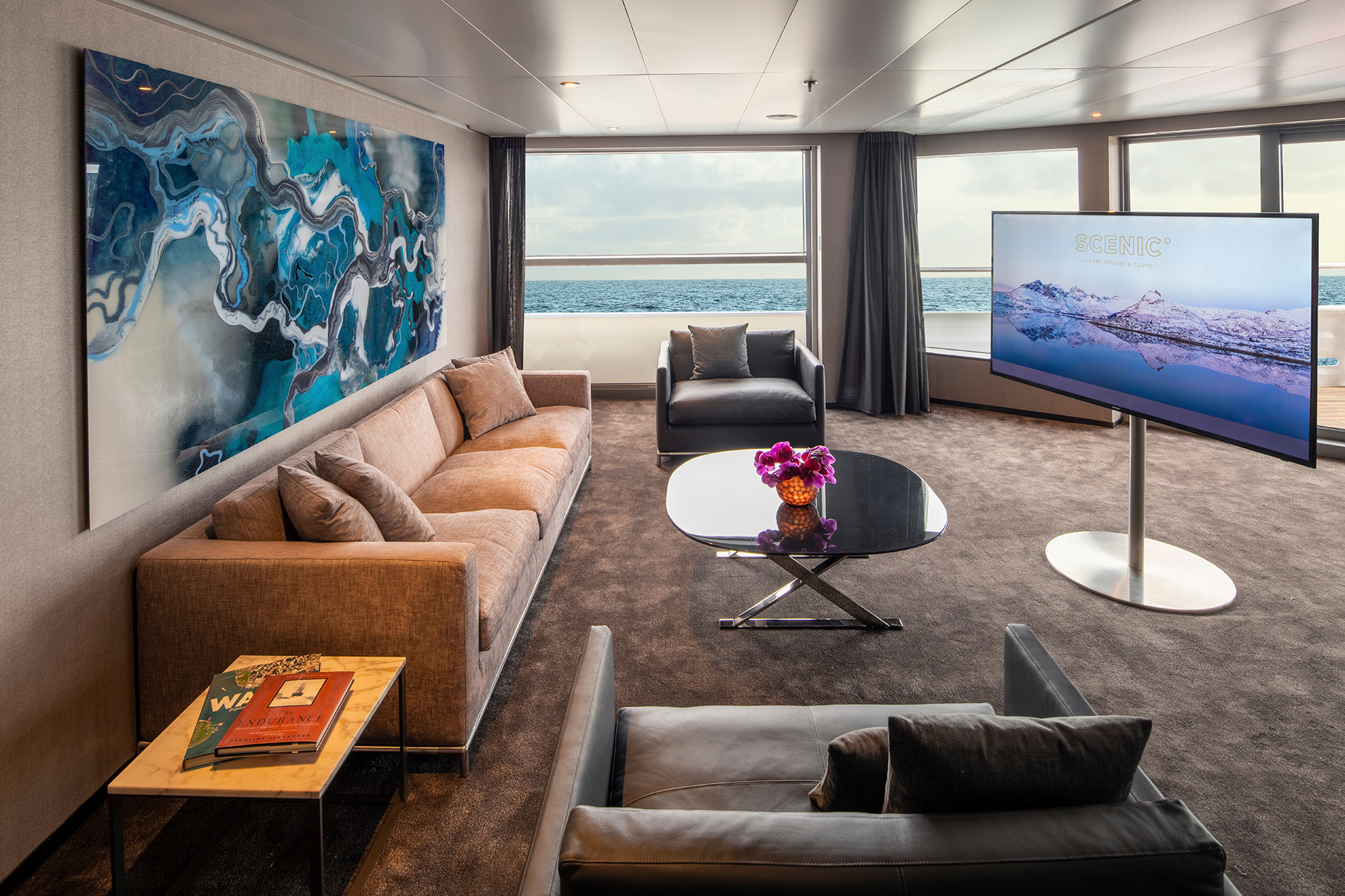 Scenic Eclipse - Owner's Penthouse Suite lounge
