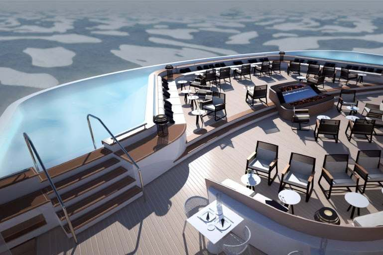 Ponant - Le Commandant Charcot - Outdoor pool
