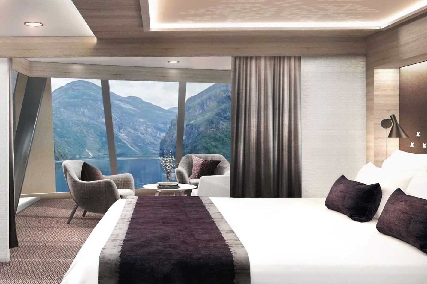 Hurtigruten - MS Maud - Corner Suite
