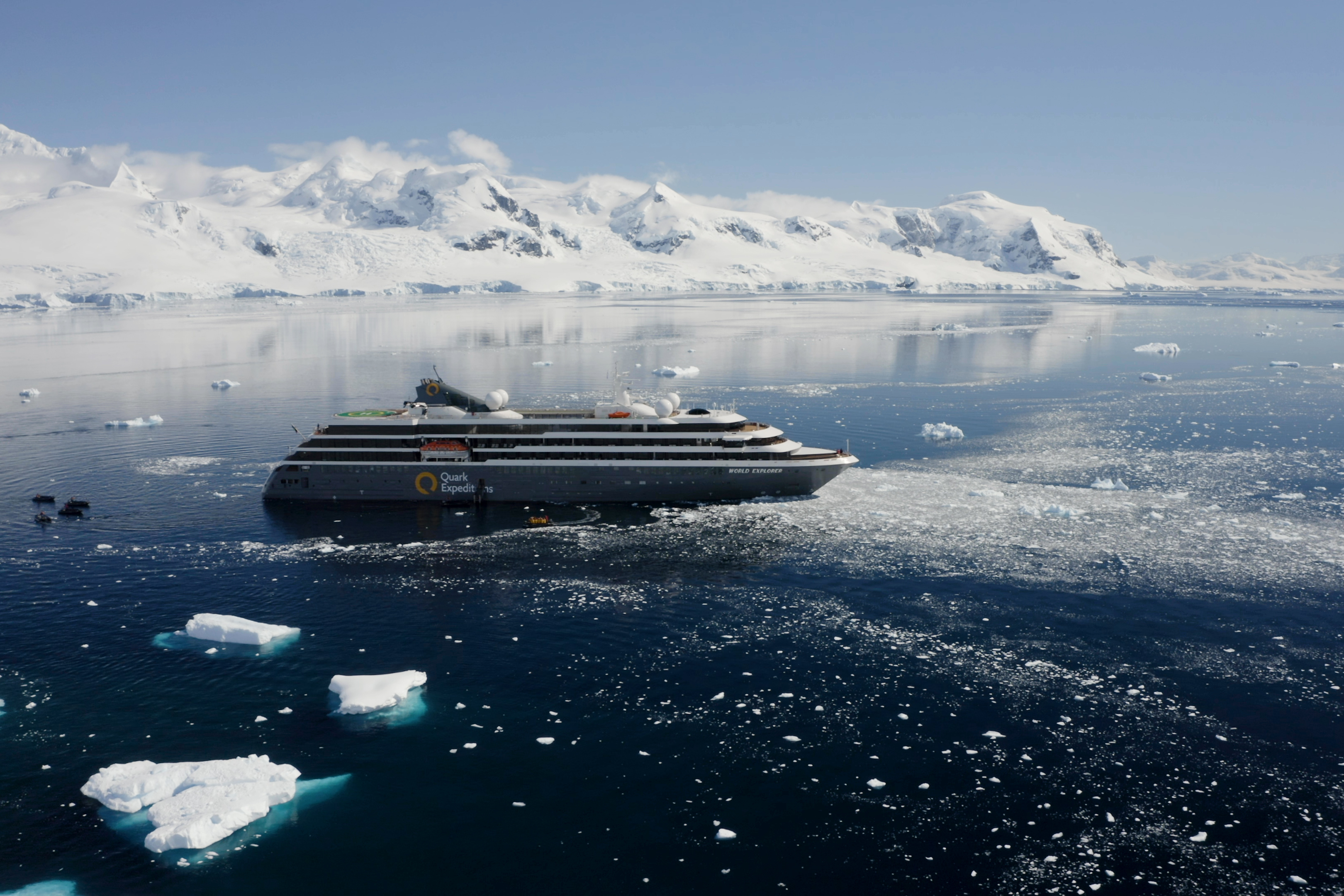 Quark Expeditions - World Explorer in Antarctica