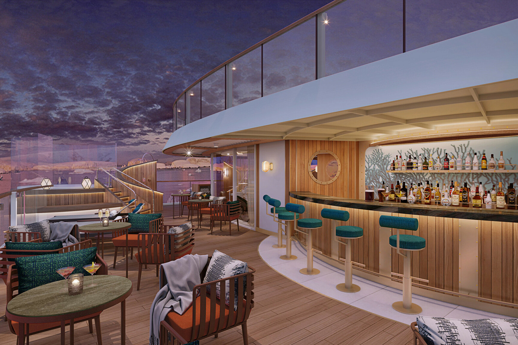Seabourn Venture - Sky Bar