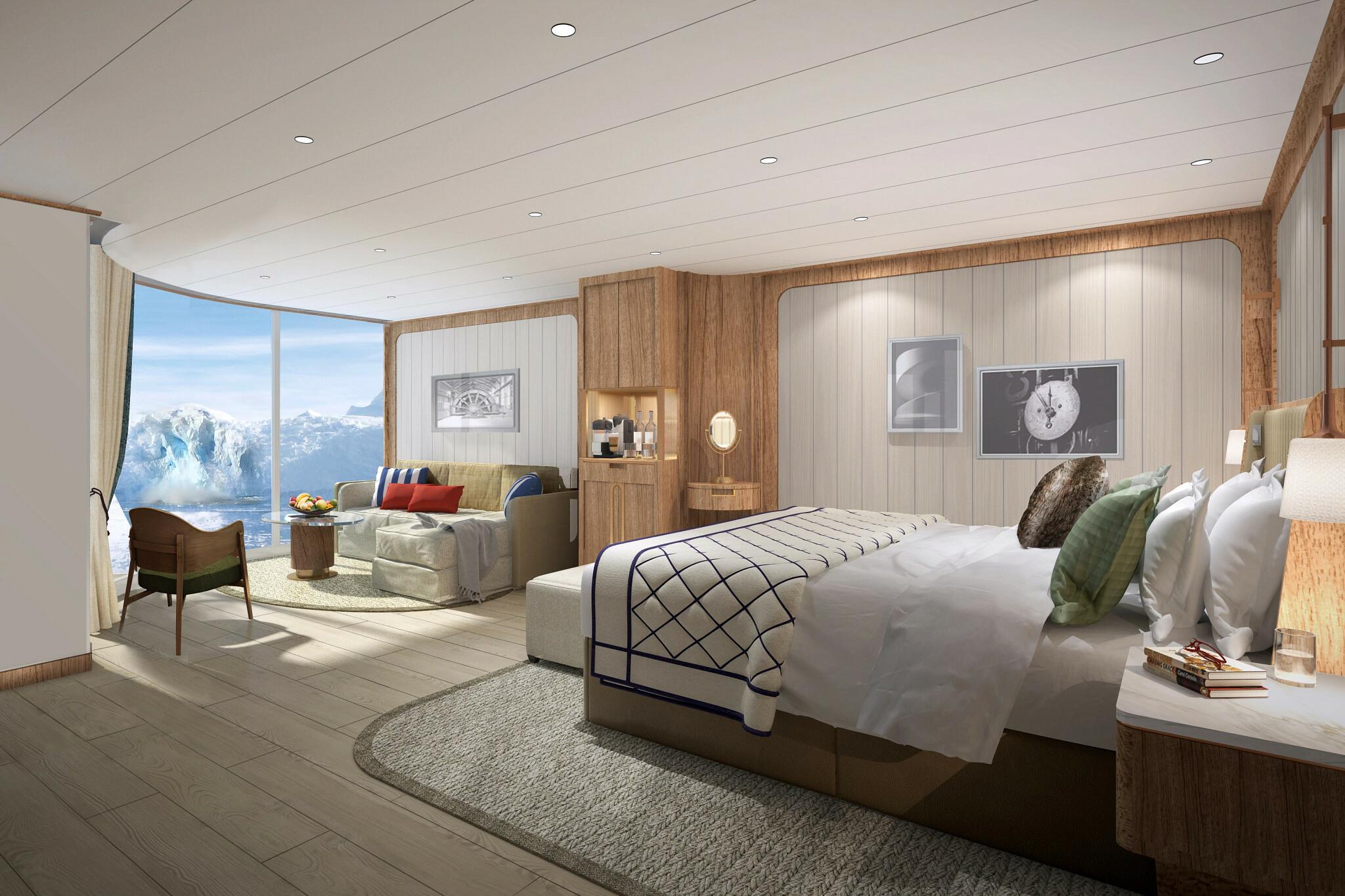 Seabourn Venture - Panorama Veranda Suite