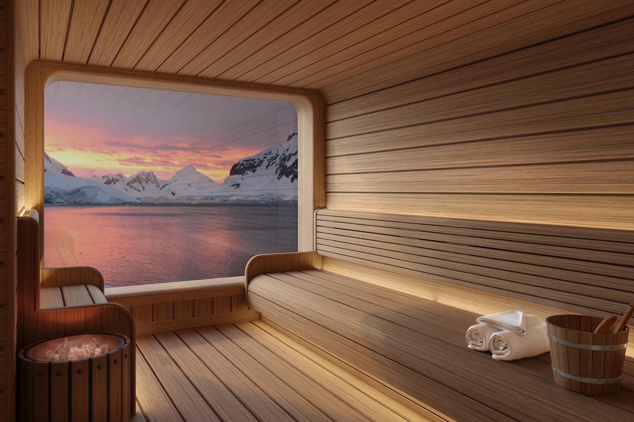 Seabourn Venture - Spa sauna