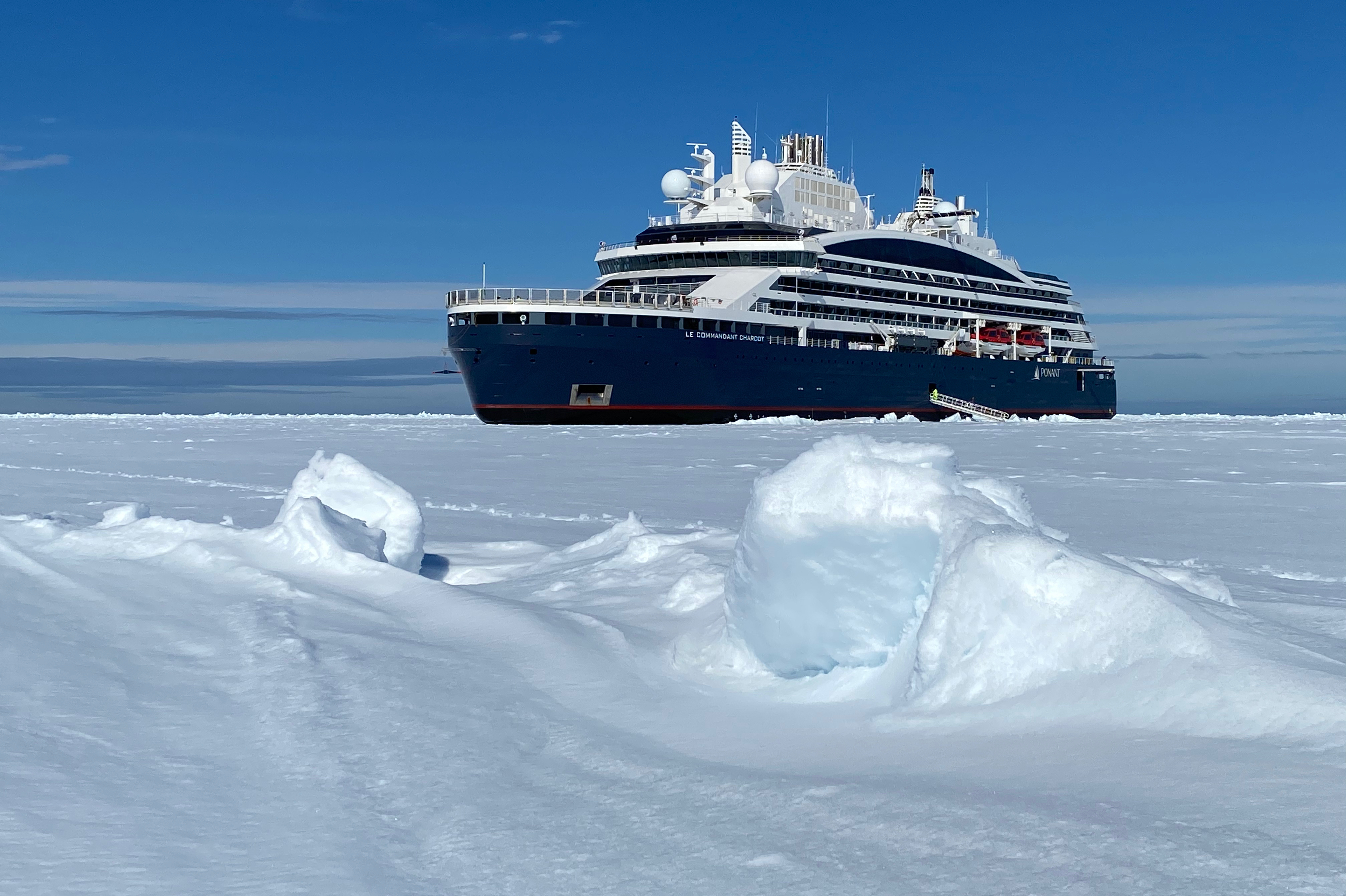 Ponant - Le Commandant Charcot in Greenland