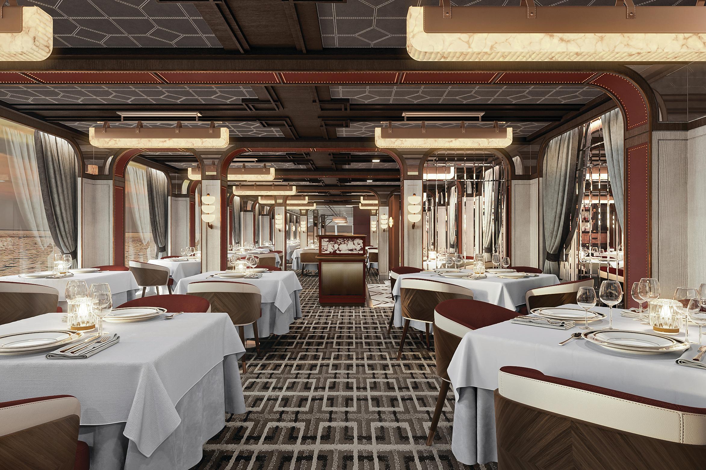 Regent Seven Seas Grandeur - Prime 7 restaurant