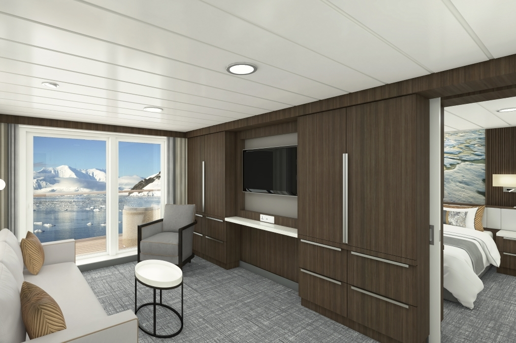 Aurora Expeditions - Sylvia Earle - Captain's Suite