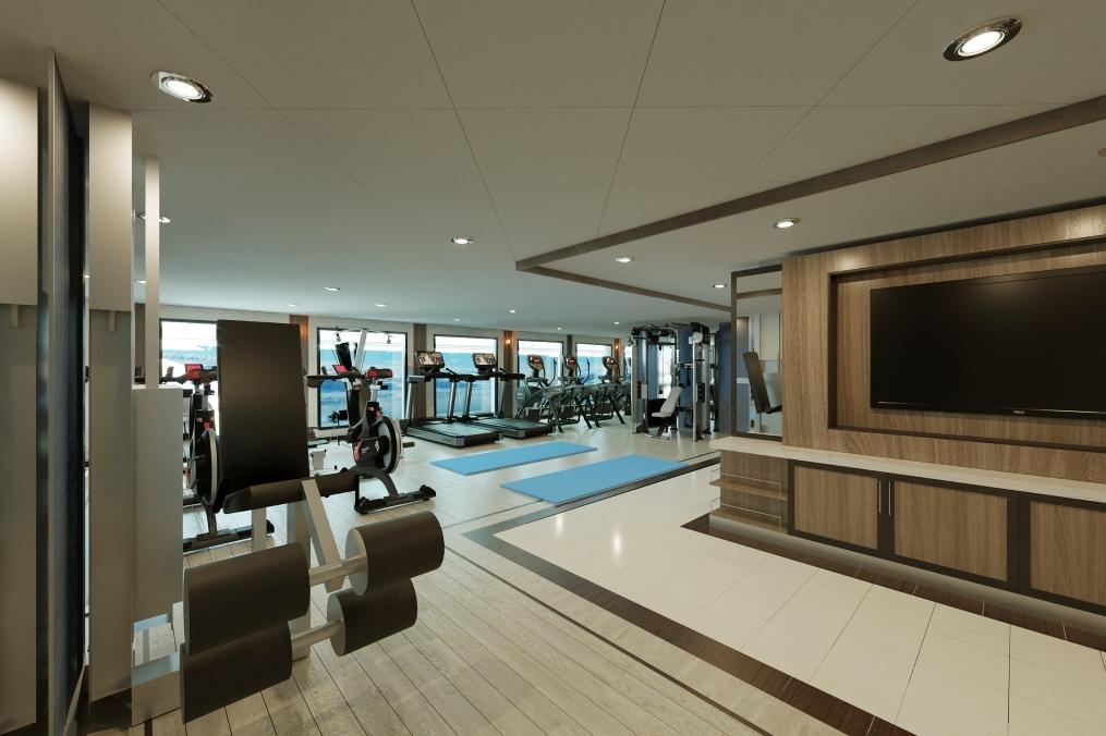Aurora Expeditions - Sylvia Earle - Gym