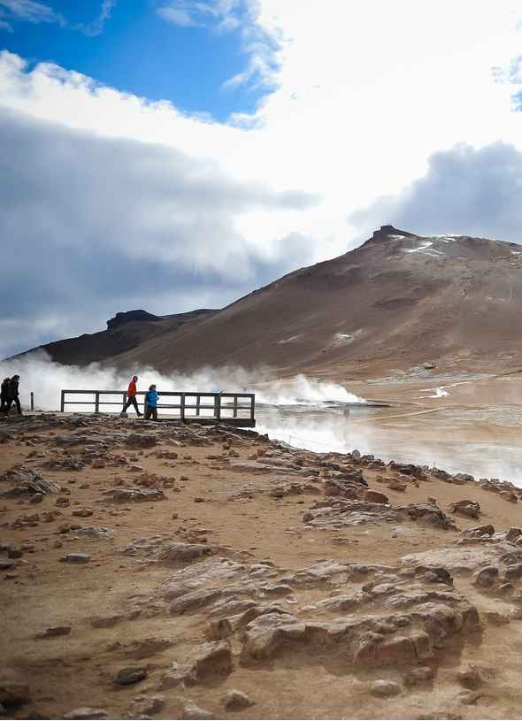 Iceland cruises - Geysir Valley