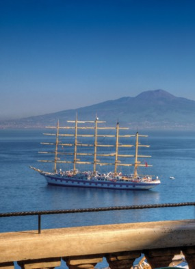 Royal Clipper in Rome