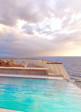 Viking Star Aquavit Terrace Infinity Pool