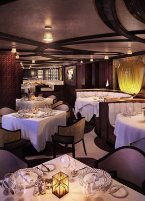 Regent Seven Seas Explorer - Chartreuse restaurant