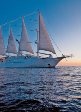 Wind Star - a great choice for those who prefer small ship cruises