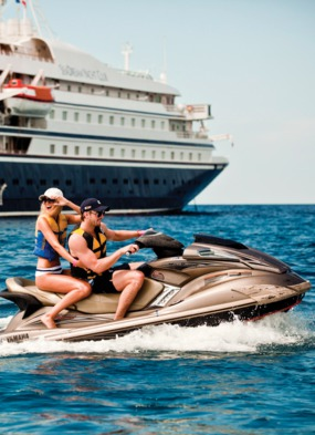 SeaDream Yacht Club - one of the world's best small cruise ships