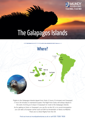 Mundy Adventures Galapagos Guide