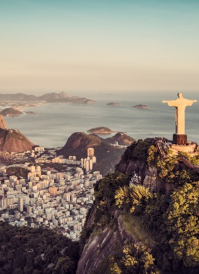 World cruise - All seven continents - Christ the Redeemer, Rio de Janeiro