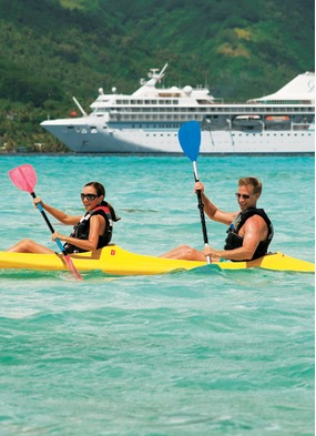 Paul Gauguin Cruises, one of the best choices for a honeymoon or romantic cruise
