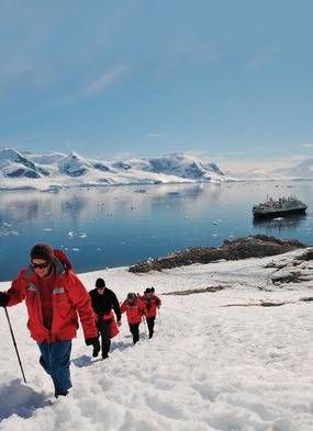 Try an expedition cruise and explore destinations such as Antarctica